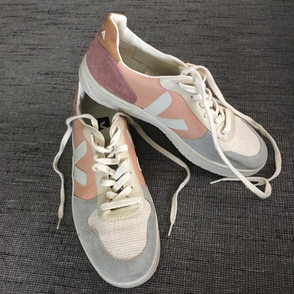 Veja Shoes   Veja Color Block Lace Up